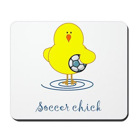 Soccer Chicks Mousepad