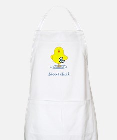 Soccer Chicks BBQ Apron