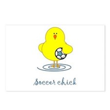 Soccer Chicks Postcards (Package of 8)