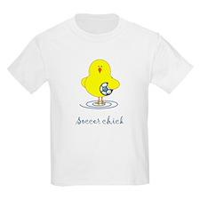 Soccer Chicks Kids T-Shirt