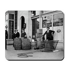 Bootleg Liquor Raid Mousepad