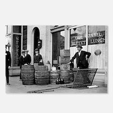 Bootleg Liquor Raid Postcards (Package of 8)