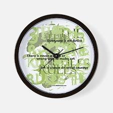 3rules Wall Clock