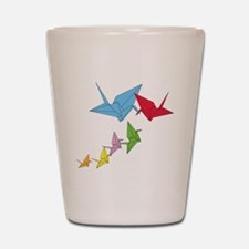 Origami Family Shot Glass