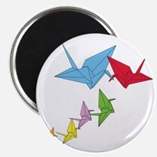 Origami Family Magnet
