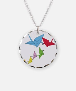 Origami Family Necklace