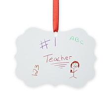 2-CKA-2-MP  #1 Teacher Ornament