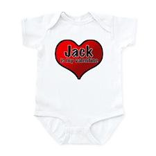 Jack is my Valentine Infant Bodysuit