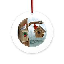 Merry Xmas Neighbor Ornament (Round)