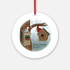 Merry Xmas Neighbor (round) Round Ornament