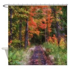 Nature Trail Scenery Shower Curtain
