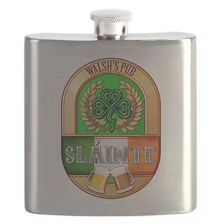 Walsh's Irish Pub Flask
