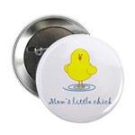 Mom's Little Chick Button