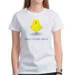 Mom's Little Chick Women's T-Shirt