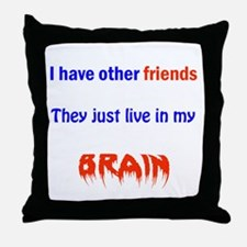 DID Family Throw Pillow