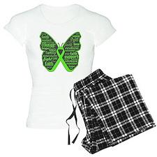 NonHodgkins Butterfly pajamas