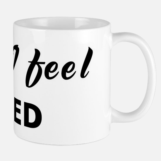 Today I feel irked Mug