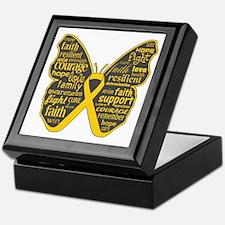 Butterfly Neuroblastoma Keepsake Box