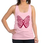 Butterfly Multiple Myeloma Racerback Tank Top