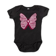 Butterfly Multiple Myeloma Baby Bodysuit