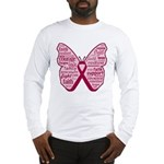 Butterfly Multiple Myeloma Long Sleeve T-Shirt