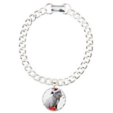 Christmas Pitbull puppy Bracelet