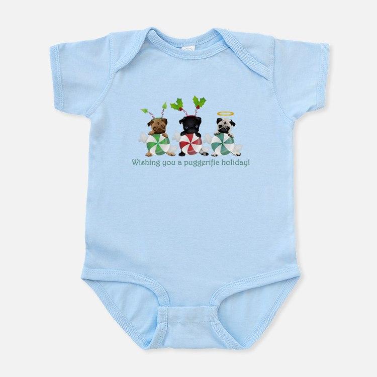 Have A Puggerific Holiday Infant Bodysuit