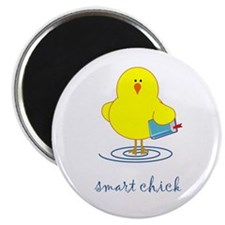 "Smart Chick 2.25"" Magnet (100 pack)"
