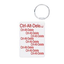 ctrl alt deleter ed Keychains