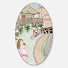 Covercolor2 Sticker (Oval)