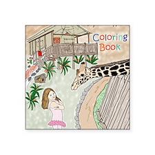 """Covercolor2 Square Sticker 3"""" x 3"""""""