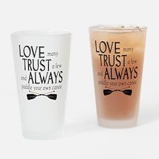 love many Drinking Glass