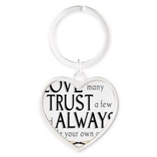 love many Heart Keychain