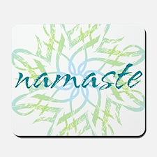 namaste_cool_trnspt_logo Mousepad