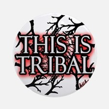This is tribal png Round Ornament