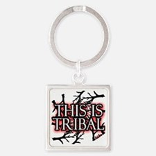 This is tribal png Square Keychain