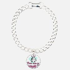2-fuckerytshirt Charm Bracelet, One Charm
