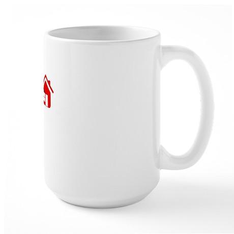 I L H M 02 on black png Large Mug