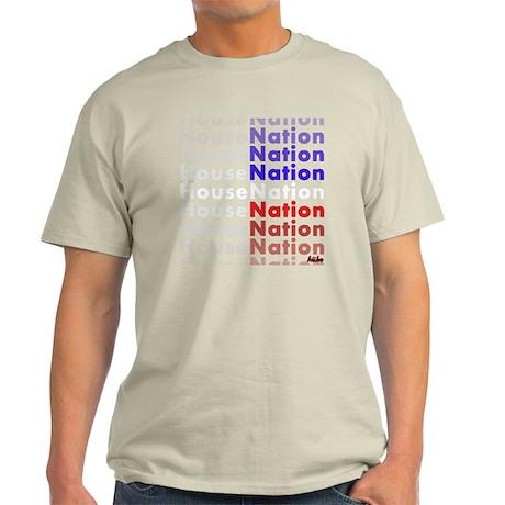 House Nation on black png Light T-Shirt