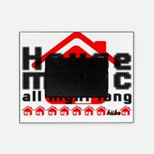 House Music all night long on white Picture Frame