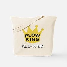 PLOW KING DARK Tote Bag