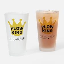 PLOW KING DARK Drinking Glass