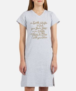 The Earth Delights Women's Nightshirt
