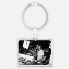 larry booth 2 Landscape Keychain