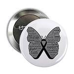 Butterfly Melanoma Ribbon 2.25