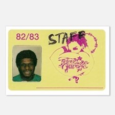 larry garage ID Postcards (Package of 8)