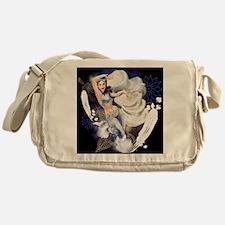 CAFEPRESSsnowdark Messenger Bag