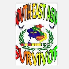 SEA SURVIVOR AIRFORCE Postcards (Package of 8)