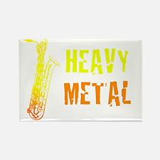 Heavy Metal Rectangle Magnet