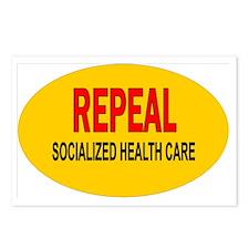 RepealOval Postcards (Package of 8)